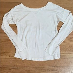 White Abercrombie and Fitch Shirt